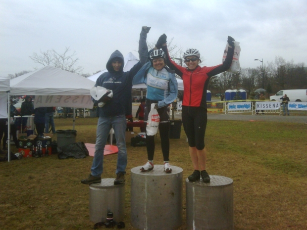 Robin takes it and Ellen rounds out the podium in 3rd place at Supercross.  East Meadow, Long Island.