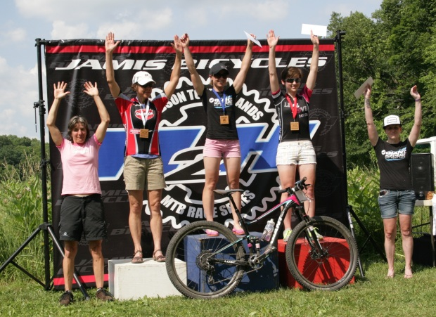 Second place for Tori in the Pro/Cat 1 field.